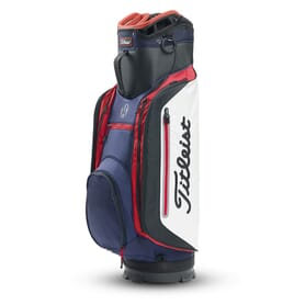 Titleist Lightweight Club 14 Cart Bag 2018, černo/bílo/modrý