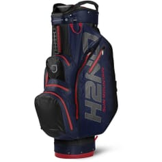 Sun Mountain H2NO Lite cart bag, modro/červený 651323701008
